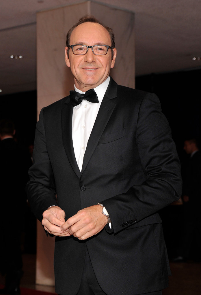 Kevin Spacey looked handsome in a tux.