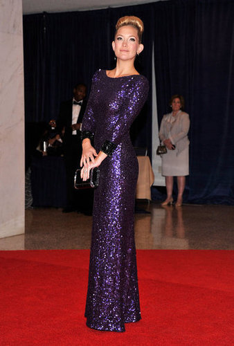 Kate Hudson lit up the red carpet at the White House Correspondant's Dinner.