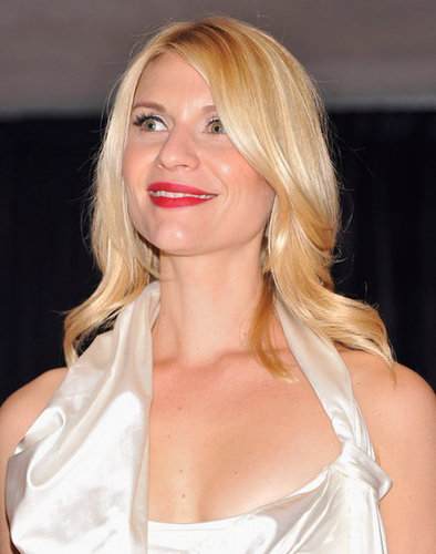 Claire Danes was stunning in white at the White House Correspondant's Dinner.