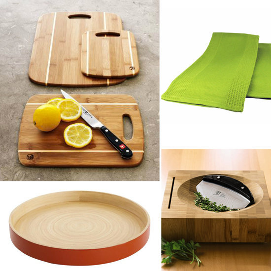 Use Bamboo Kitchen Products
