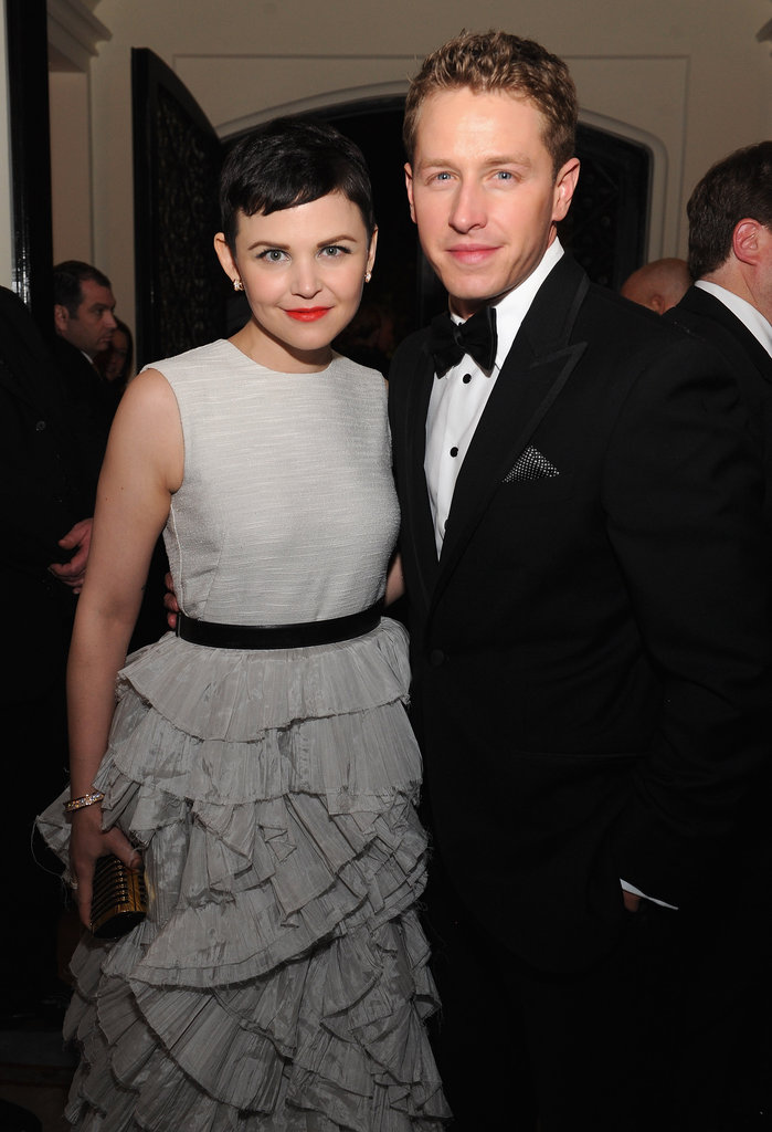 Costars Ginnifer Goodwin and Josh Dallas posed together at the White House Correspondant's Dinner.