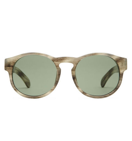 """""""I've got a thing for this season's clear acetate. These are just the right thing to perk up my wardrobe without trying too hard."""" — Hannah Weil, assistant editor  Dries Van Noten by Linda Farrow Printed Sunglasses ($369)"""