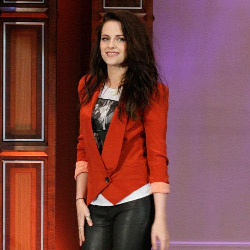 Kristen Stewart Red Blazer