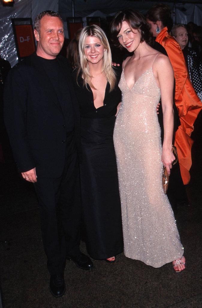 Michael Kors, Tara Reid, and Milla Jovovich — 1999