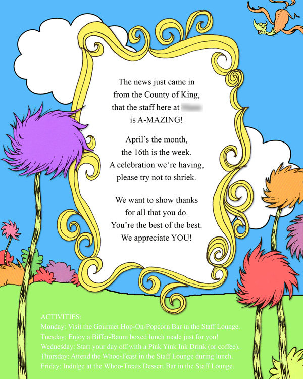 You're Invited . . . | Hats Off! A Seuss-ical Way to ...