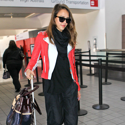 Celebrities in Travel Outfits