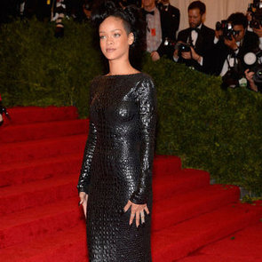 Rihanna in Tom Ford Pictures at 2012 Met Gala