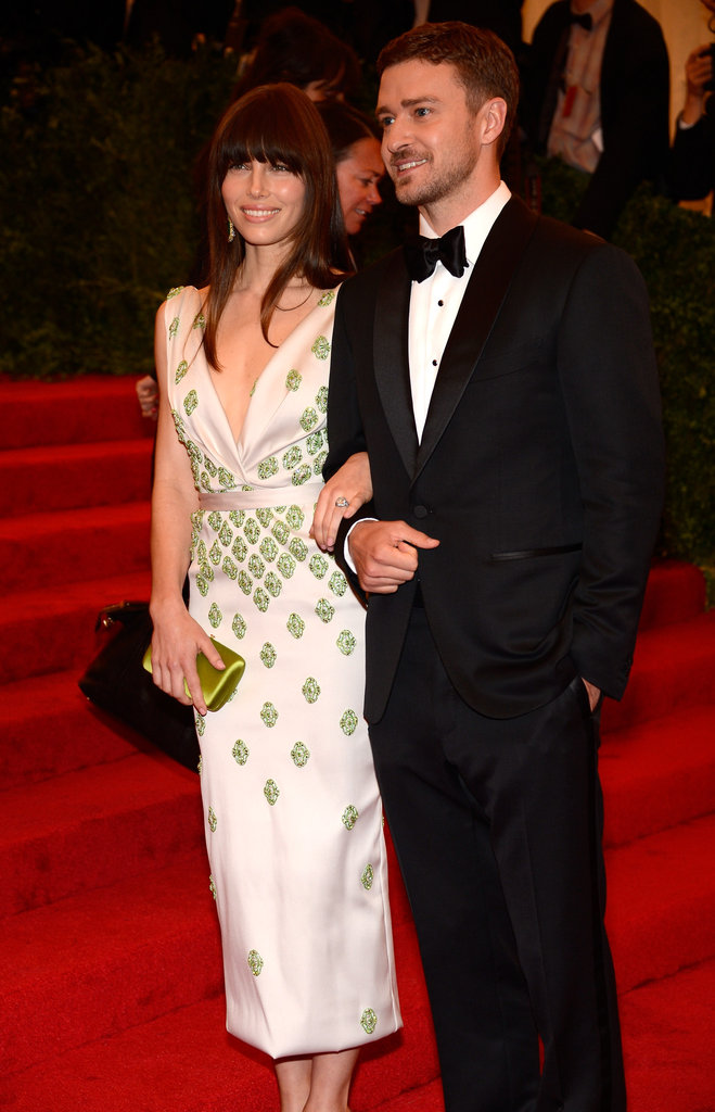 Jessica Biel and Justin Timberlake Hit the Met Gala Together!