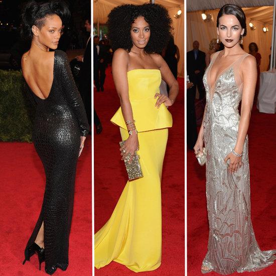 Met Gala 2012 Top Trends