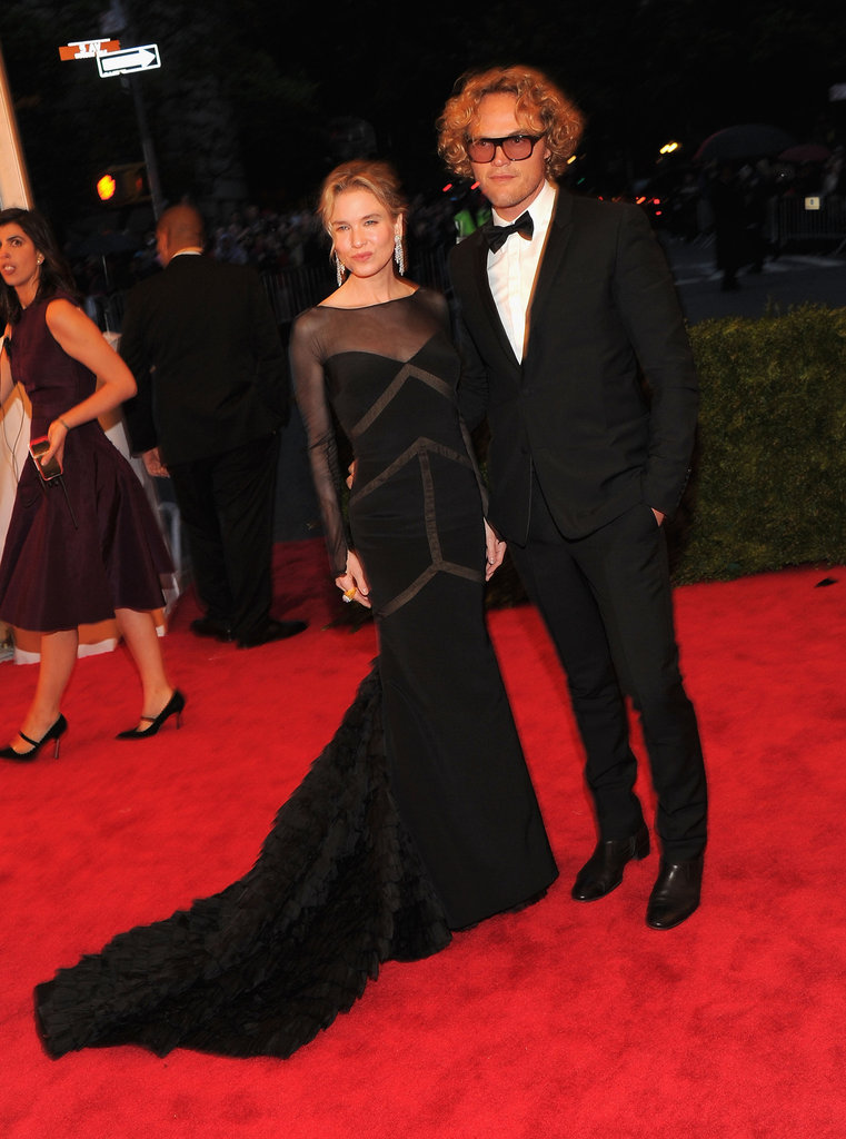 Renée Zellwegger and Peter Dundas