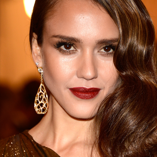 Met Gala Makeup Trend: Dark Red Lips