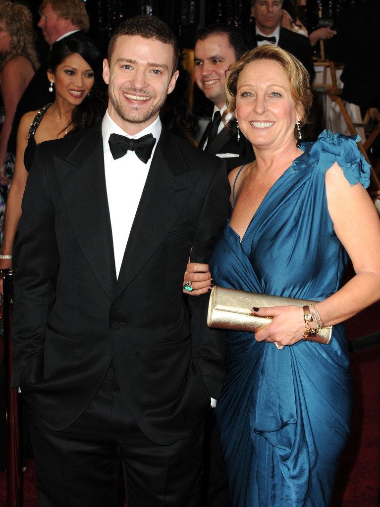 Justin Timberlake and Lynn Harless