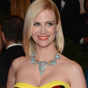 January Jones' Beauty Look at the 2012 Met Costume Institute Gala