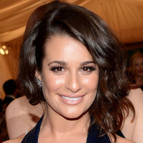 Lea Michele's Beauty Look at the 2012 Met Costume Institute Gala