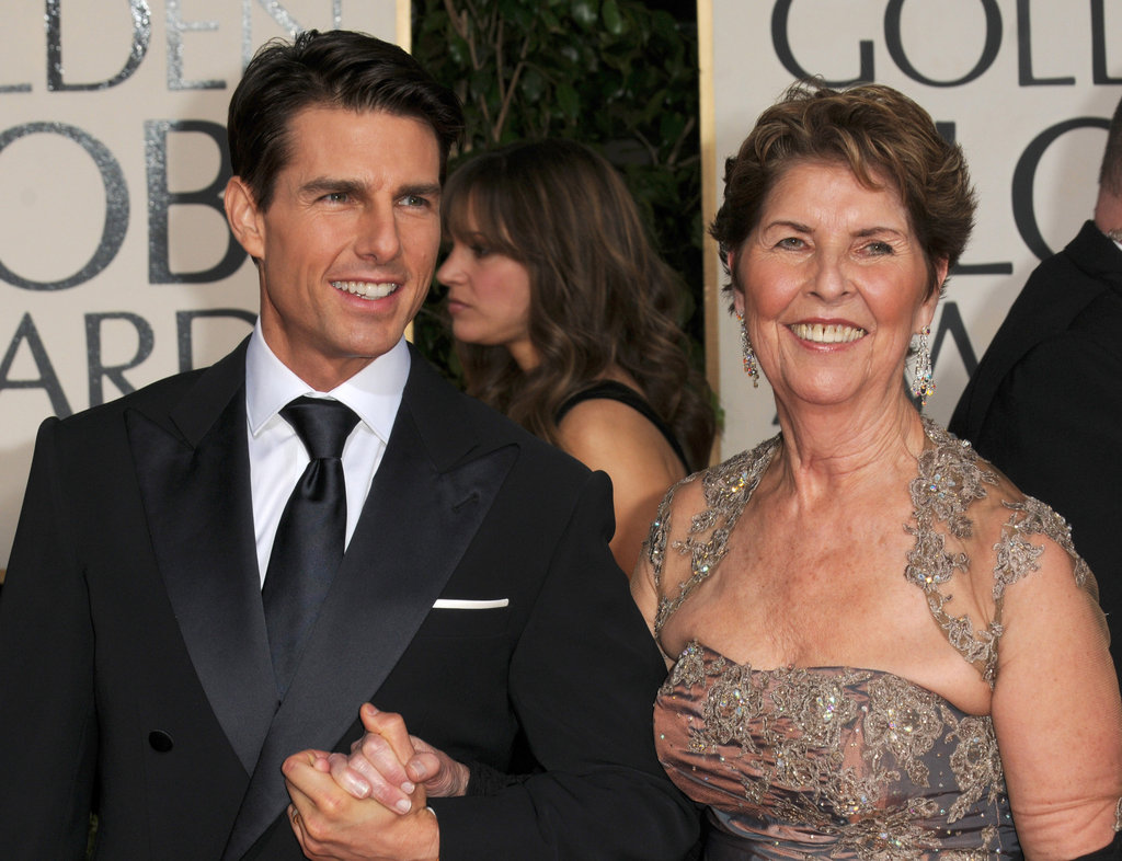 Tom Cruise and Mary Pfeiffer