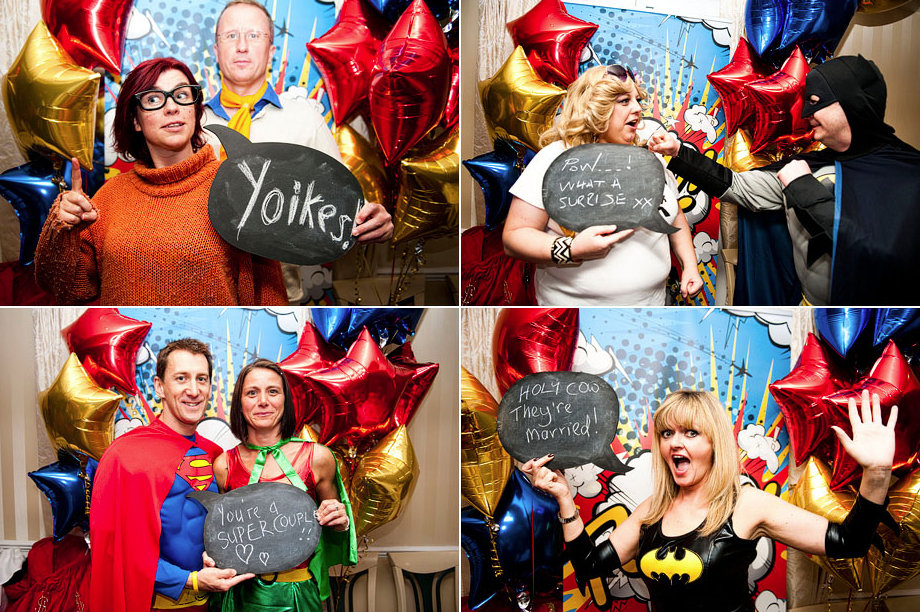 Themed Photo Booth Props