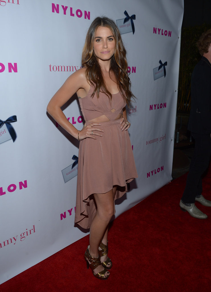 Nikki Reed posed on the red carpet at the Roosevelt Hotel before heading inside to the Nylon party.