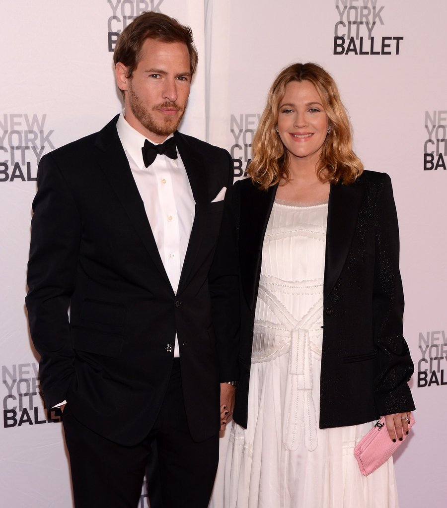 Drew Barrymore and Will Kopelman were hand-in-hand at New York City Ballet's 2012 Spring Gala.