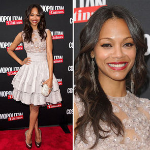 Zoe Saldana on the Cover of Cosmopolitan Latinas, On Her Style, Oscars Choices, Stylist and Being Fab at 30!