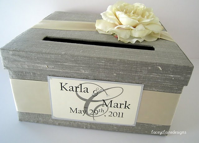 Grey Wedding Card Box 13 Gorgeous Wedding Card and Money Boxes ...