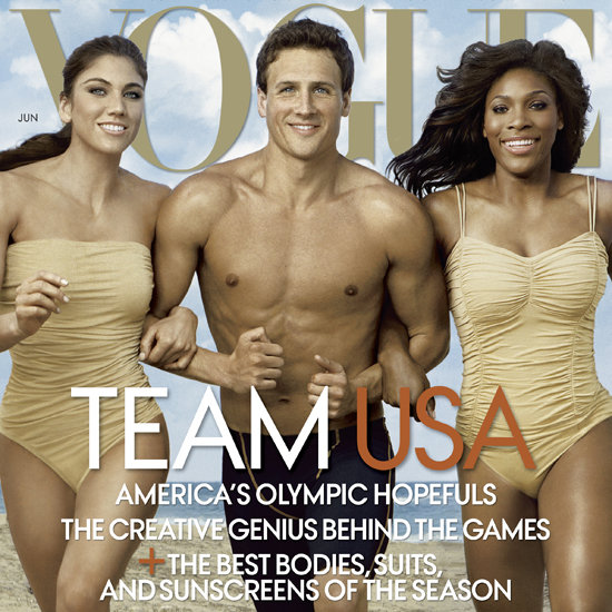 Vogue Olympic Athletes Cover June 2012
