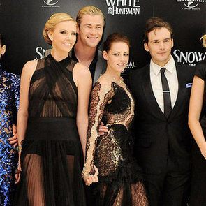 Kristen Stewart Pictures in Nike Sneakers at London Snow White and the Huntsman Premiere