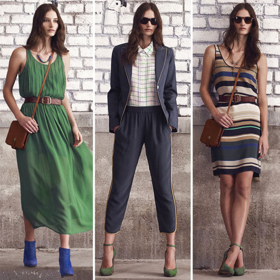 Sneak Peek! Club Monaco Shows Irresistible Prints and Textures For Fall '12