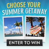 Enter to Win SavvySugar's Choose Your Summer Getaway!