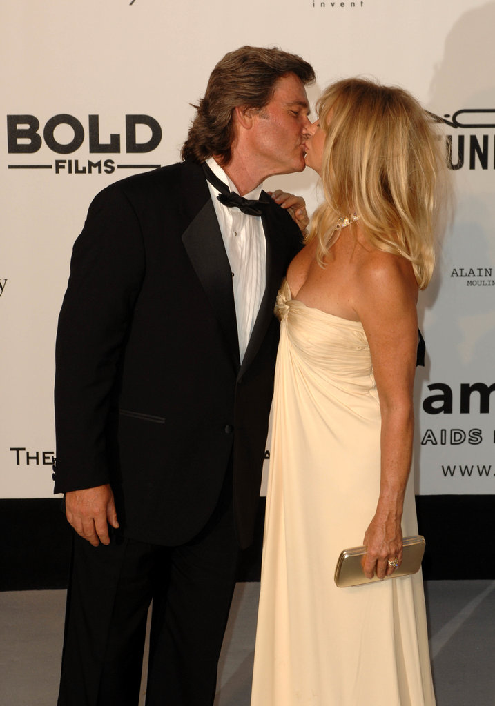 Kurt Russell and Goldie Hawn in 2007