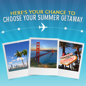 Enter to Win SavvySugar's Choose Your Summer Getaway