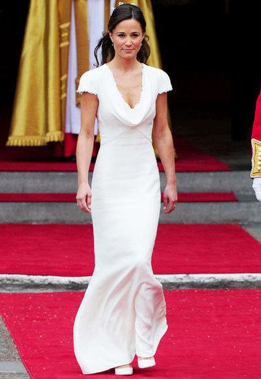 Pippa Middleton's Big Entrance