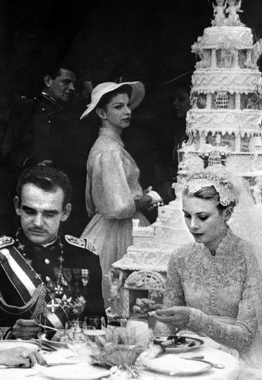 Prince Rainier III and Grace Kelly's Towering Dessert