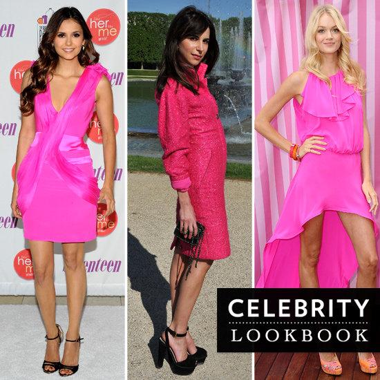 Celebrities Wearing Hot Pink
