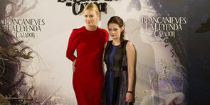 Kristen Stewart and Charlize Theron Mix Things Up in Madrid