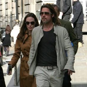 Brad Pitt and Angelina Jolie National Portrait Gallery Pictures