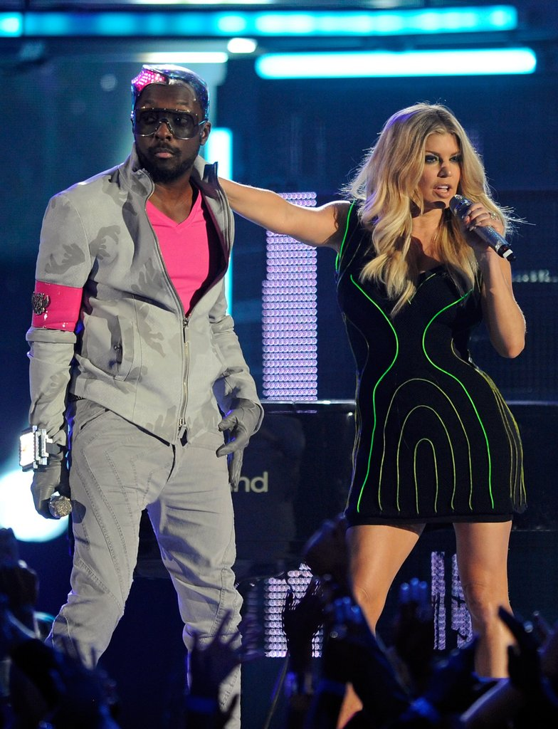 The Black Eyed Peas rocked the Billboard Music Awards stage in May 2011.