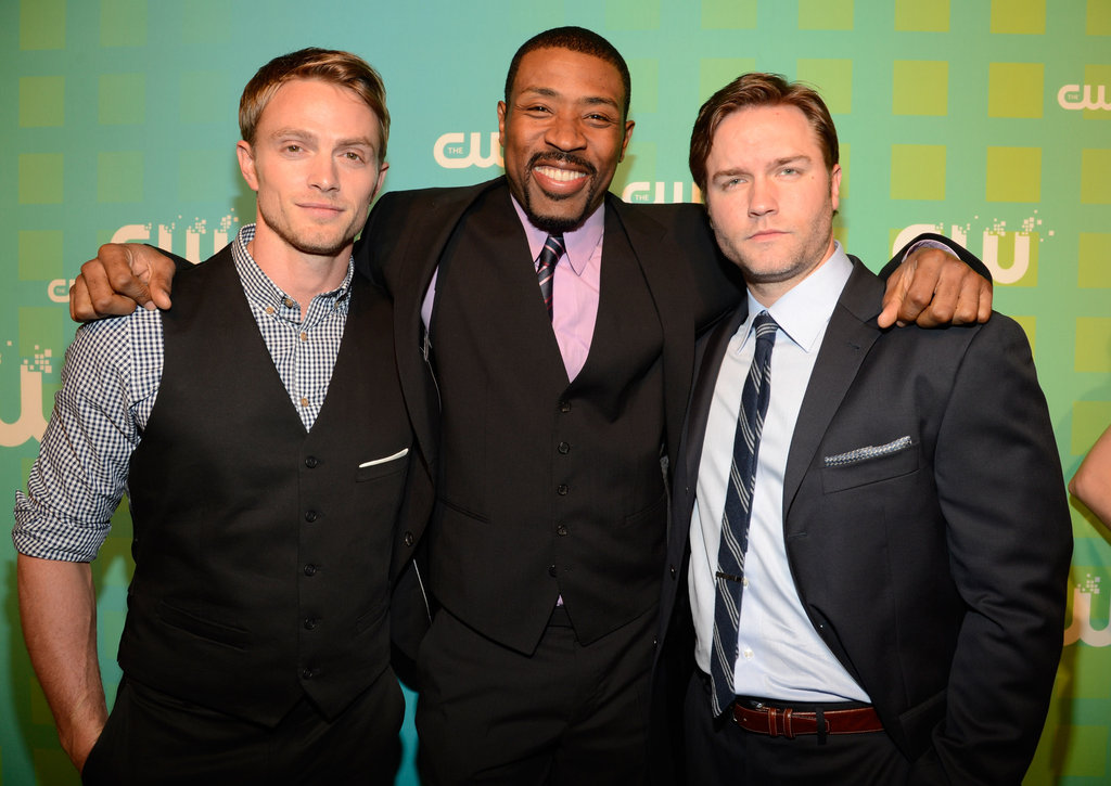 Hart of Dixie hunks Wilson Bethel, Cress Williams, and Scott Porter teamed up for a photo.