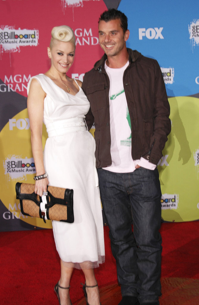 Musical couple Gwen Stefani and Gavin Rossdale posed for the cameras in 2006.