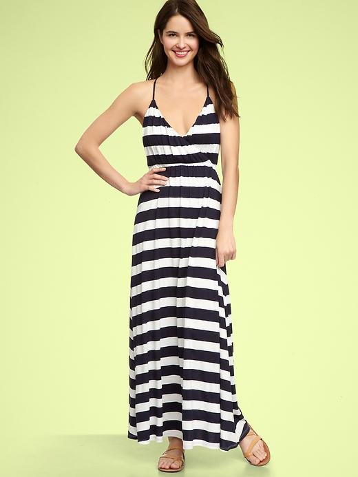What Summer is complete without a classic striped maxi Dress? Wear it with or without a bikini underneath. Gap Striped Maxi Dress ($75)