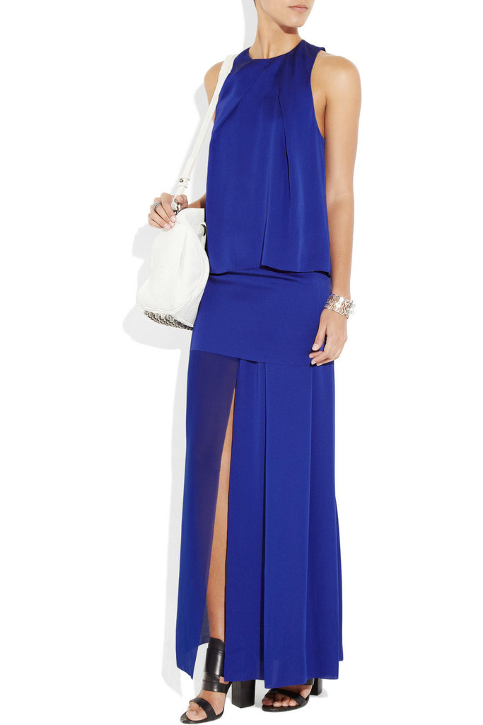 """The sexy front slit is key for the Acne maxi, allowing the rest of the dress to remain """"modest"""" — save for that one flashy detail. Acne Barika Maxi Dress ($503)"""