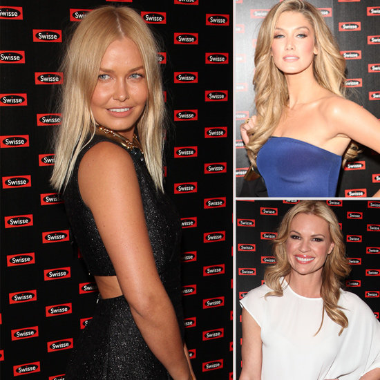 Delta Goodrem, Lara Bingle and Sonia Kruger Frock Up For The Swisse Body Launch in Sydney
