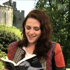 Video of Kristen Stewart Reading Fifty Shades of Grey