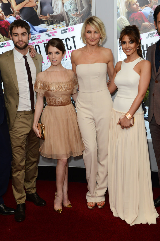 Chace Crawford posed with the ladies at the What to Expect When You're Expecting UK premiere.