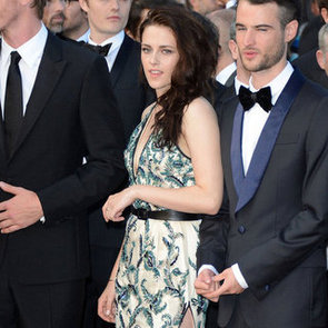 Kristen Stewart Pictures Wearing Balenciaga at On the Road Cannes Film Festival Premiere