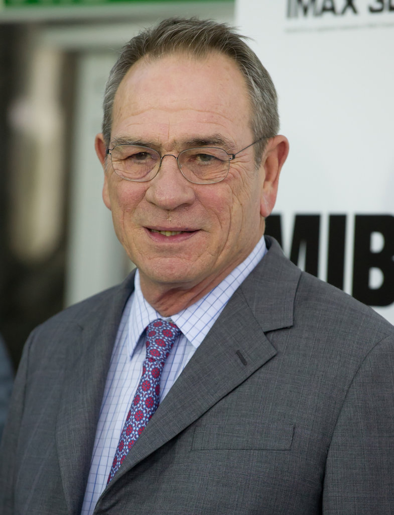 Tommy Lee Jones attended the Men in Black III premiere in NYC.