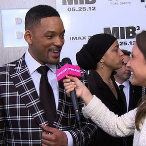 Will Smith Rapping at Men in Black 3 Premiere Video