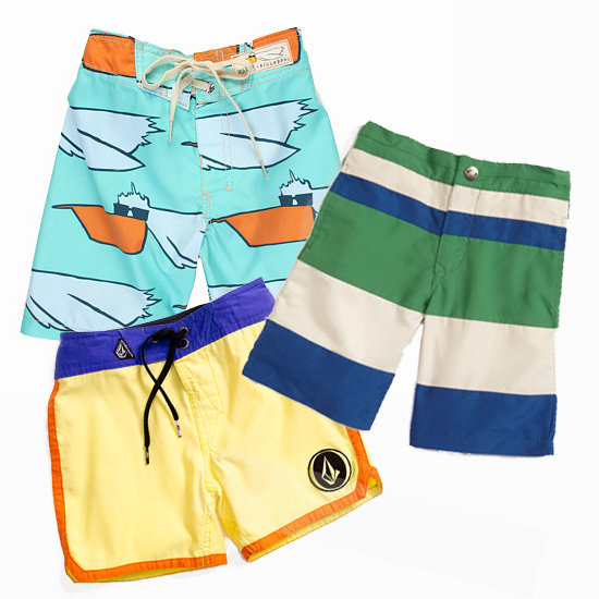 Surfing Safari! 9 Pairs of Boardshorts For Your Little Boy (Surfboard Optional)