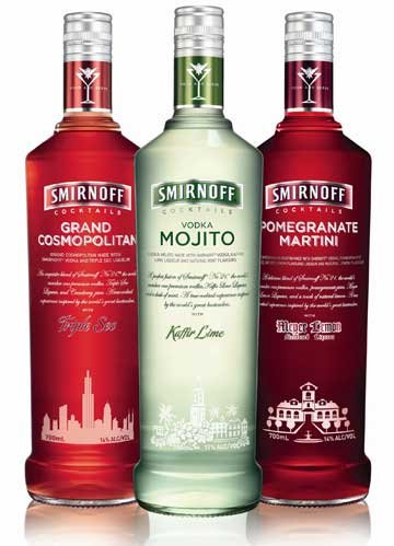 Drinks Made With Watermelon Flavored Vodka
