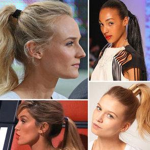 Hair Trend: Ponytail Cuffs
