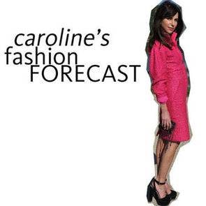 Style Tips from Caroline Sieber's Killer Wardrobe: She Shows Us How to Wear the Trends: Texture, Pastels, Leather + more!